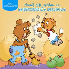 Nauči biti uredan uz medvjedića Brunda